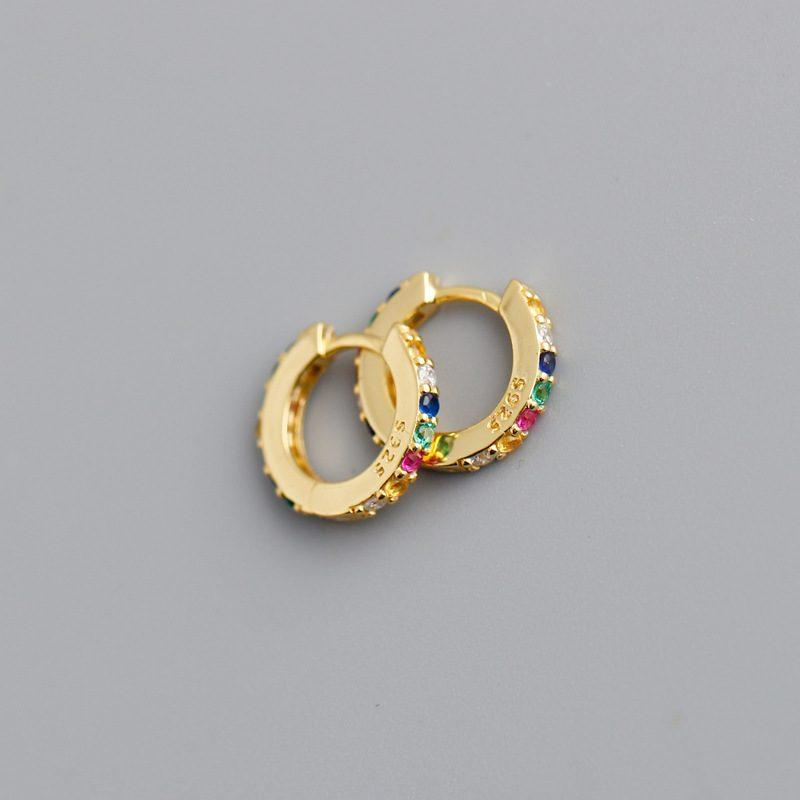 Bông tai bạc mạ vàng đính đá Zircon LILI_338864-06