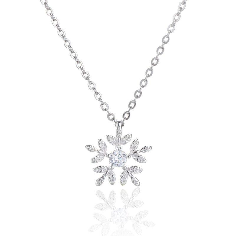 Dây chuyền bạc bông tuyết LILI_548868-5