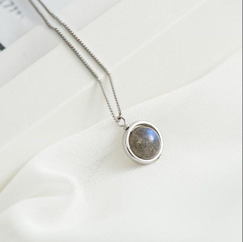 Dây chuyền bạc đá mặt trăng LILI_987212-1