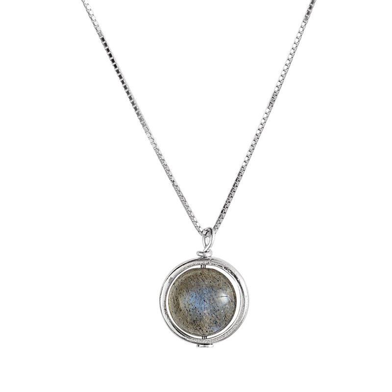 Dây chuyền bạc đá mặt trăng LILI_987212-3
