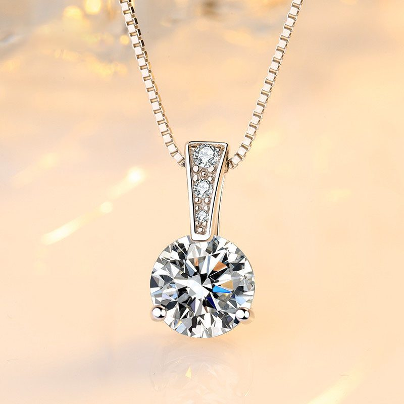 Dây chuy�n bạc đính đá Zircon LILI_845656-2