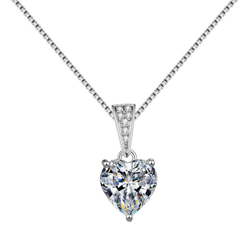 Dây chuyền bạc đính đá Zircon trái tim LILI_939517-4