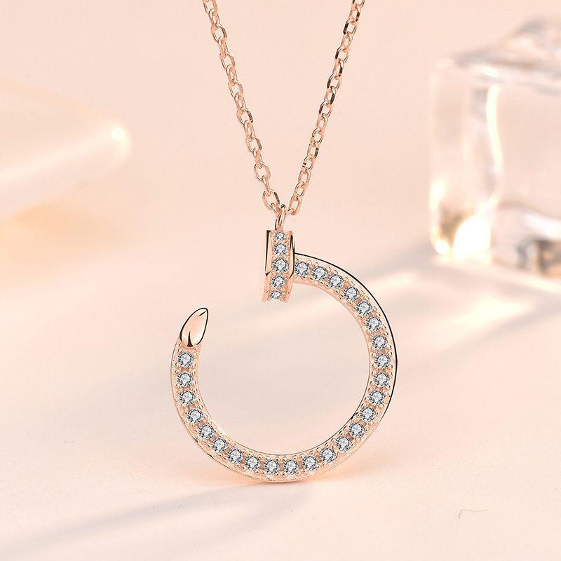 Dây chuyền bạc mạ vàng LILI_412716-1