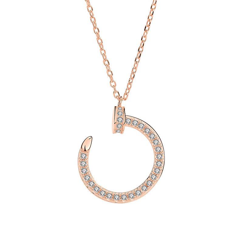 Dây chuyền bạc mạ vàng LILI_412716-3