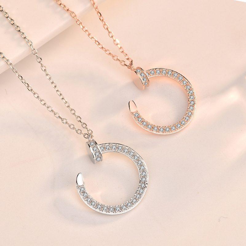 Dây chuyền bạc mạ vàng LILI_412716-5