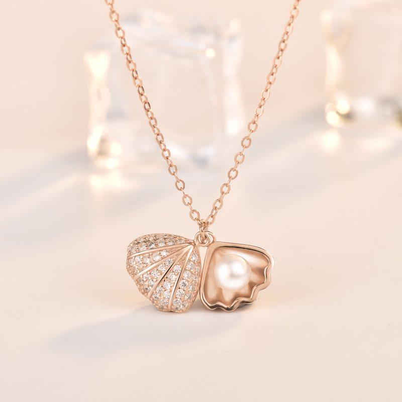Dây chuy�n bạc mạ vàng ng�c trai LILI_596512-1