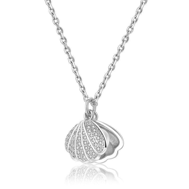 Dây chuyền bạc mạ vàng ngọc trai LILI_596512-4
