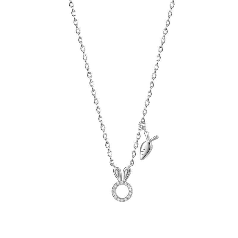 Dây chuyền bạc mạ vàng thỏ con LILI_524541-5