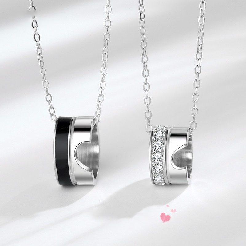 Dây chuyền bạc nhẫn cặp đôi LILI_452933-1
