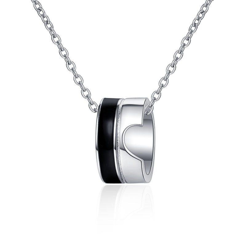 Dây chuyền bạc nhẫn cặp đôi LILI_452933-4