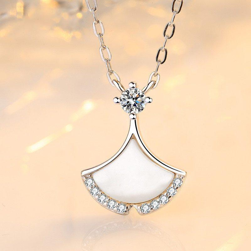 Dây chuyền bạc váy cách điệu LILI_156642-1