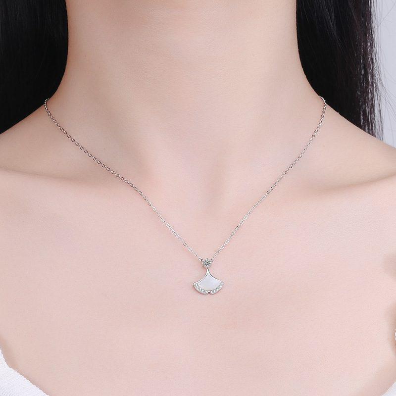 Dây chuyền bạc váy cách điệu LILI_156642-3