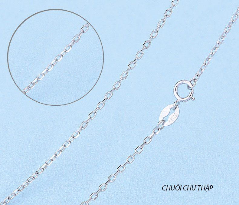 Dây chuyền trơn LILI_226292-19-chuỗi chữ thập-