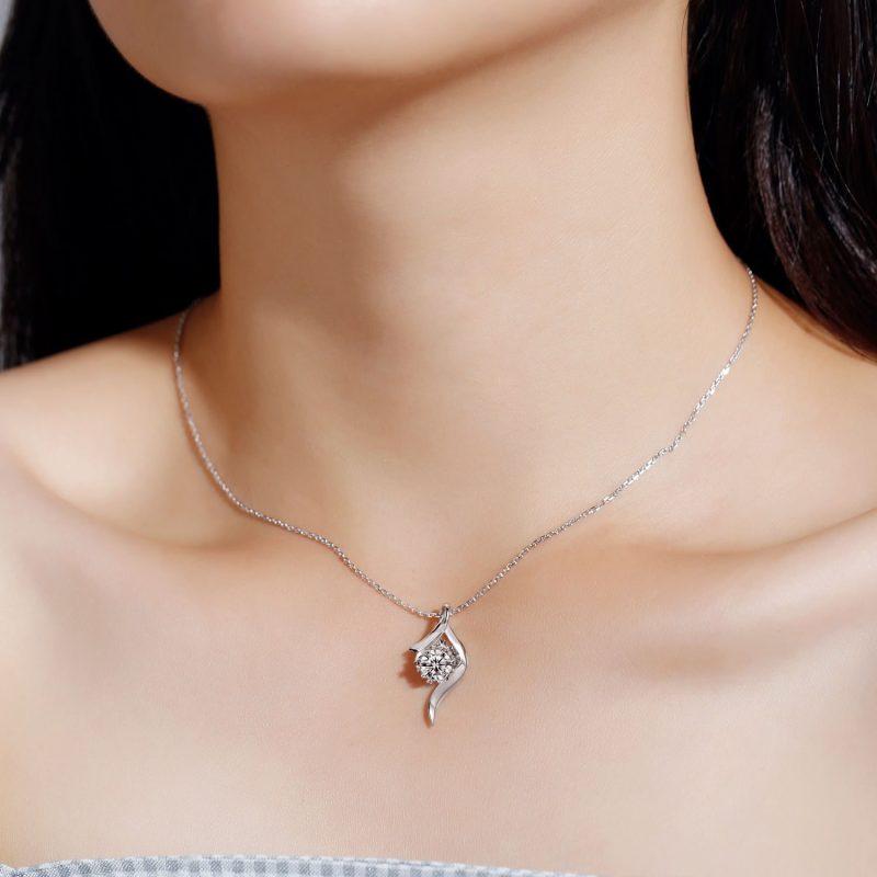 Dây chuyền vàng đính kim cương Moissanite LILI_496739-3