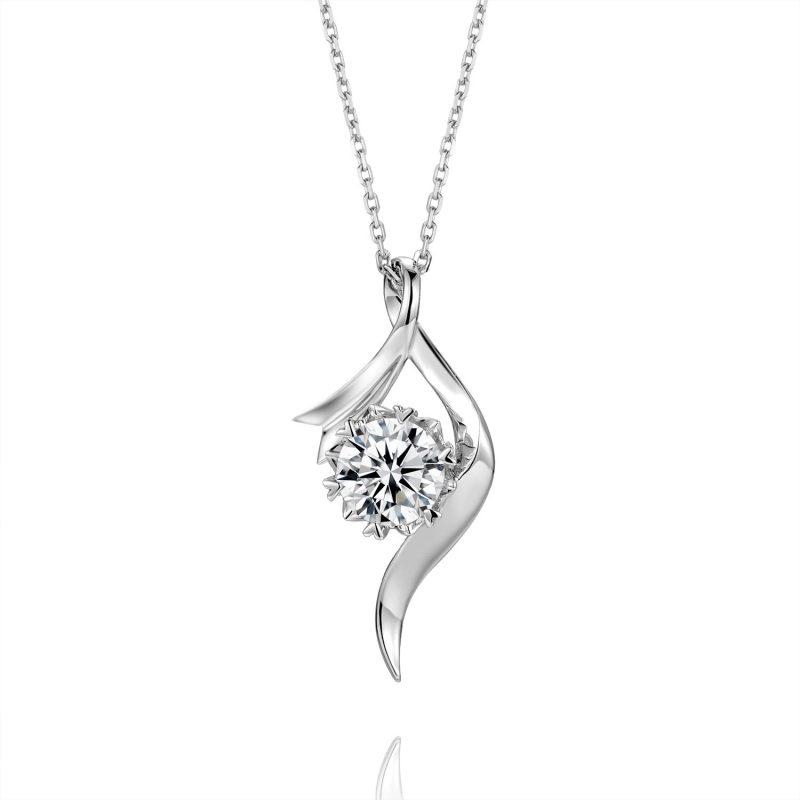 Dây chuyền vàng đính kim cương Moissanite LILI_496739-4