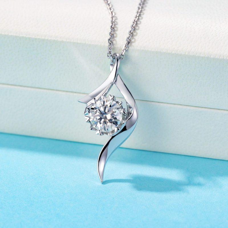 Dây chuyền vàng đính kim cương Moissanite LILI_496739-5