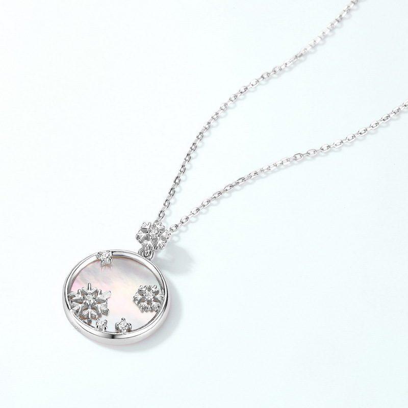 Mặt dây chuyền bạc bông tuyết LILI_879669-1