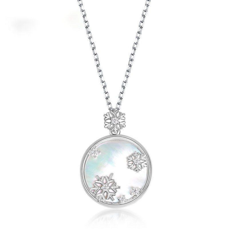 Mặt dây chuyền bạc bông tuyết LILI_879669-3