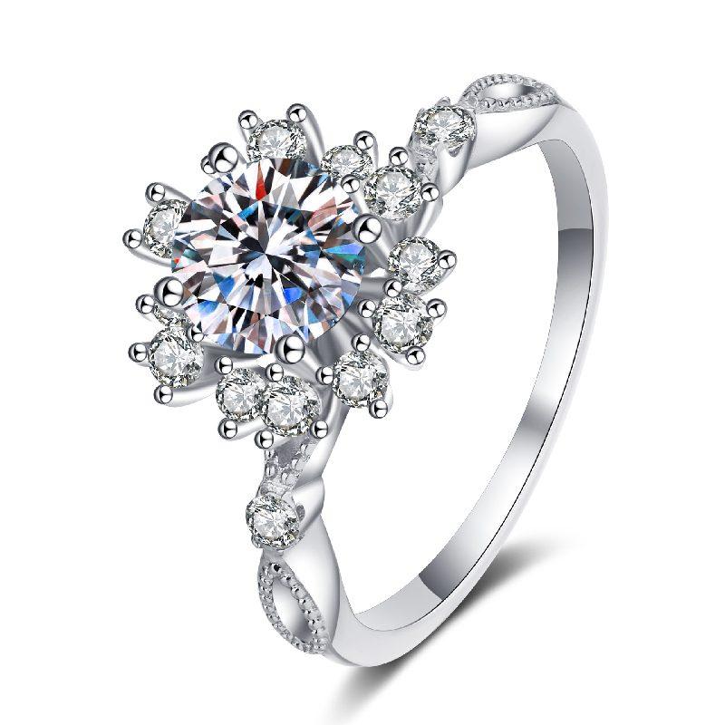 Nhẫn bạc đính đá Mossanite hình bông hoa LILI_364719-05