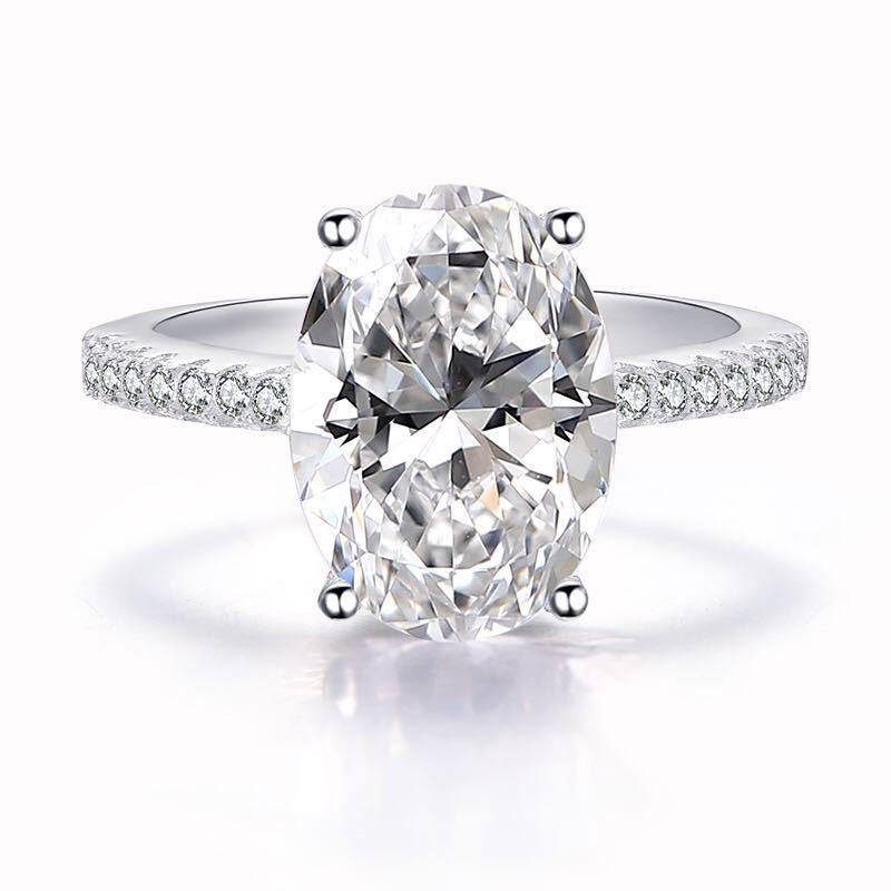 Nhẫn bạc đính đá Zircon Sky Line LILI_183579-01