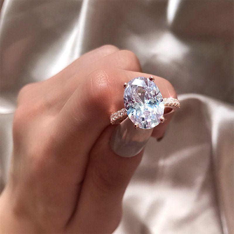 Nhẫn bạc đính đá Zircon Sky Line LILI_183579-05