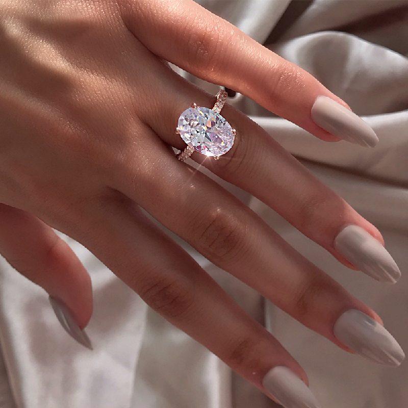 Nhẫn bạc đính đá Zircon Sky Line LILI_183579-07