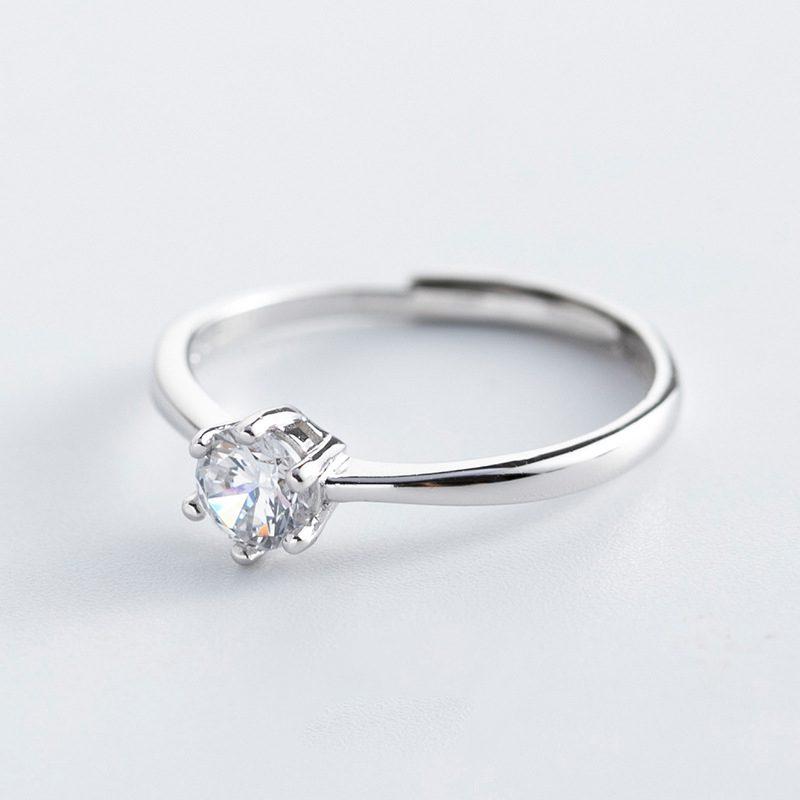 Nhẫn bạc đính đá Zircon The Queen LILI_521264-01
