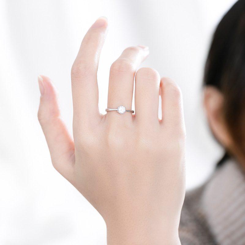 Nhẫn bạc đính đá Zircon The Queen LILI_521264-03