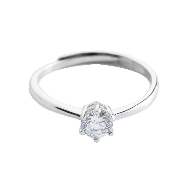 Nhẫn bạc đính đá Zircon The Queen LILI_521264-05