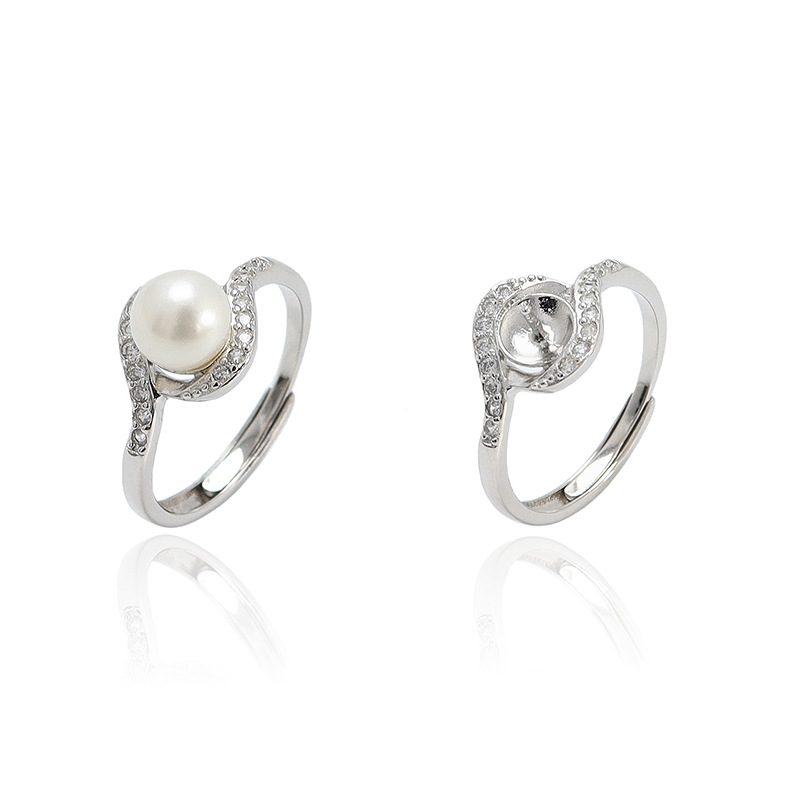 Nhẫn bạc đính ngọc trai Beach Pearl LILI_351532-01