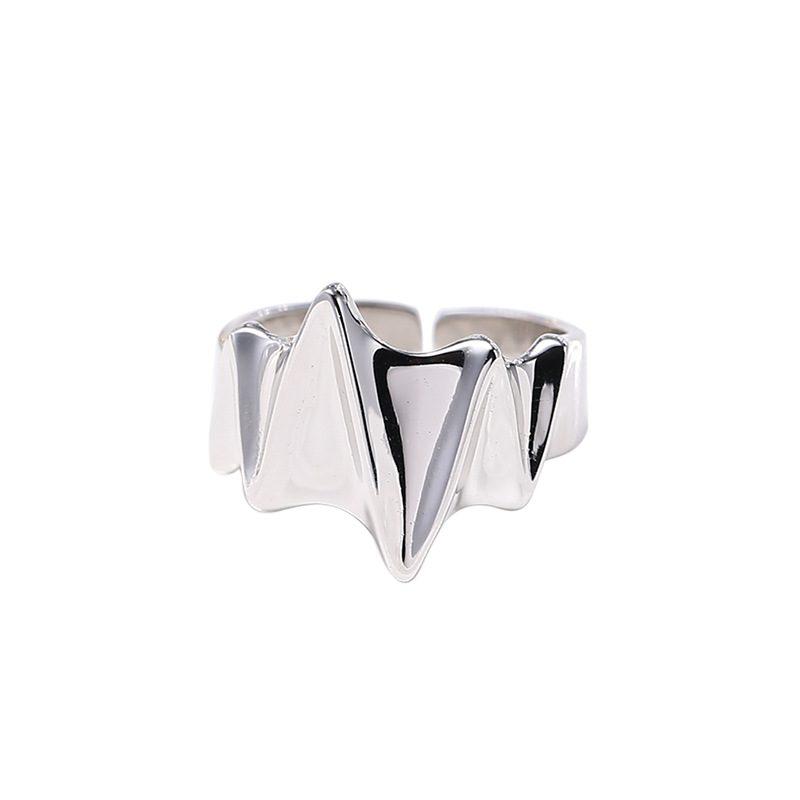 Nhẫn bạc hình điện tâm đồ LILI_259391-03