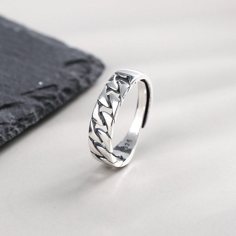 Nhẫn bạc hình vòng xoắn LILI_855423-01