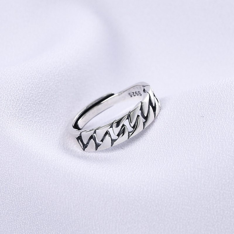 Nhẫn bạc hình vòng xoắn LILI_855423-02