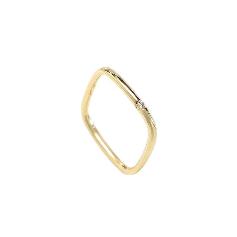 Nhẫn bạc hình vuông cách điệu LILI_381865-04