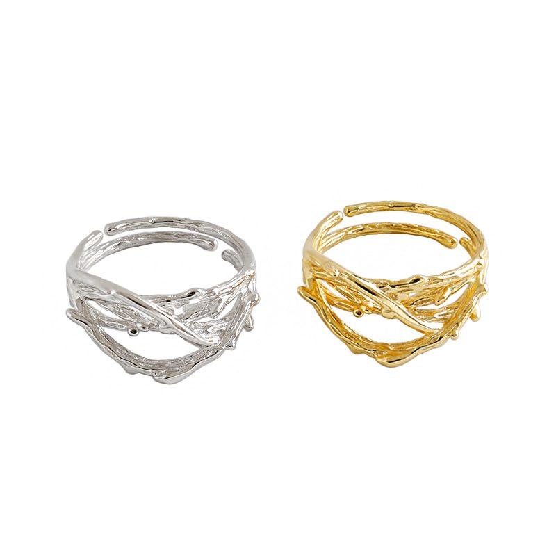 Nhẫn bạc mạ vàng True Love LILI_925987-05