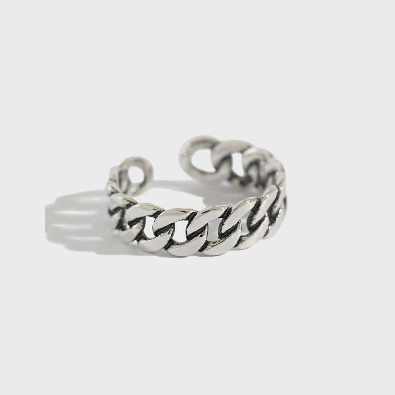 Nhẫn bạc mạ vàng dạng chuỗi LILI_875283-01