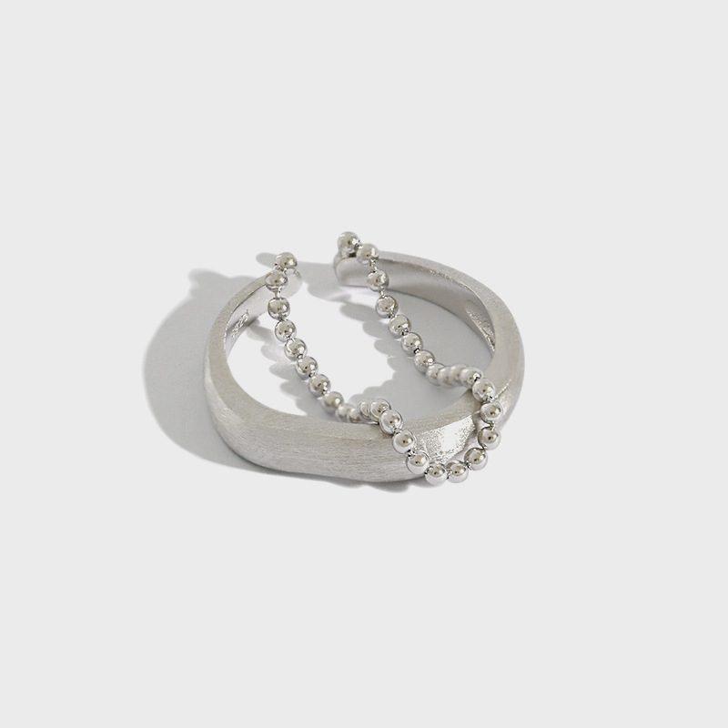 Nhẫn bạc mạ vàng dạng chuỗi hạt LILI_346838-01