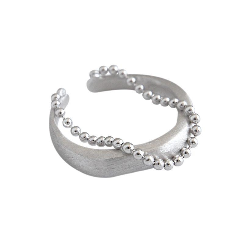 Nhẫn bạc mạ vàng dạng chuỗi hạt LILI_346838-03