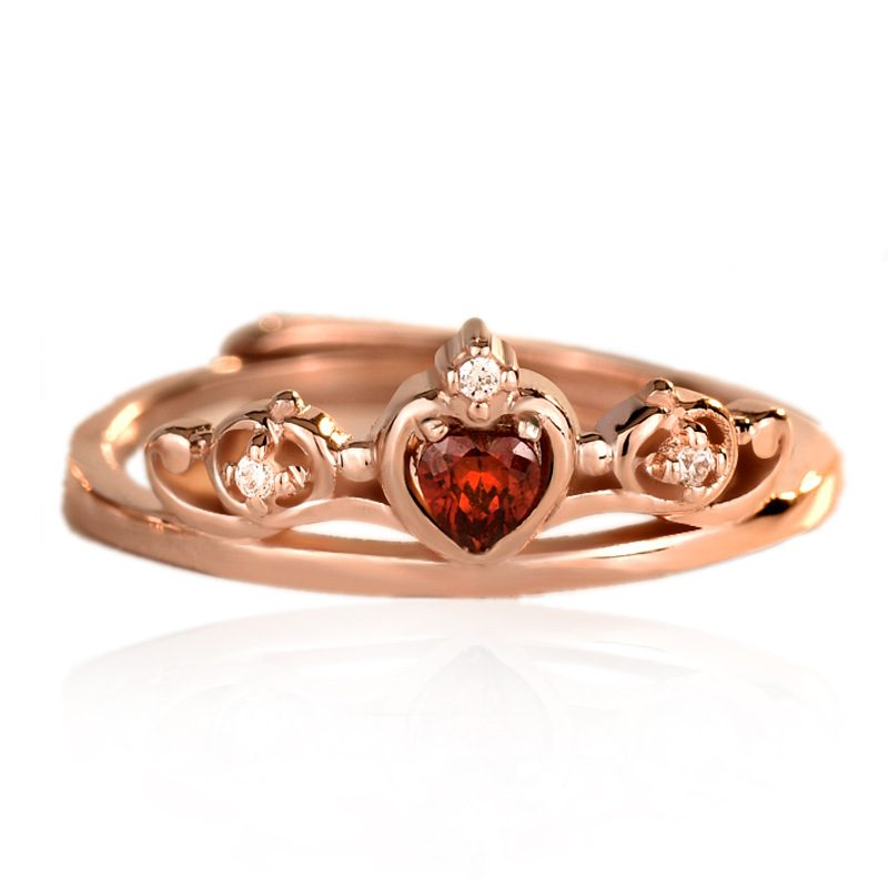 Nhẫn bạc mạ vàng đính đá Zircon Princess LILI_773597-06