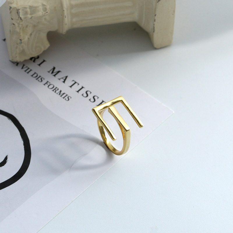 Nhẫn bạc mạ vàng sương giá LILI_819462-01