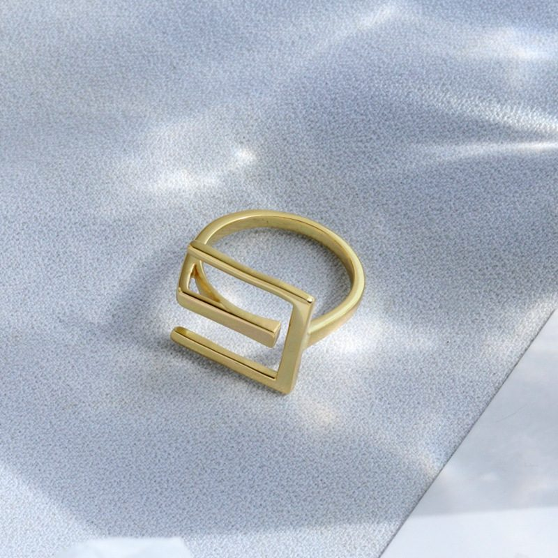 Nhẫn bạc mạ vàng sương giá LILI_819462-02