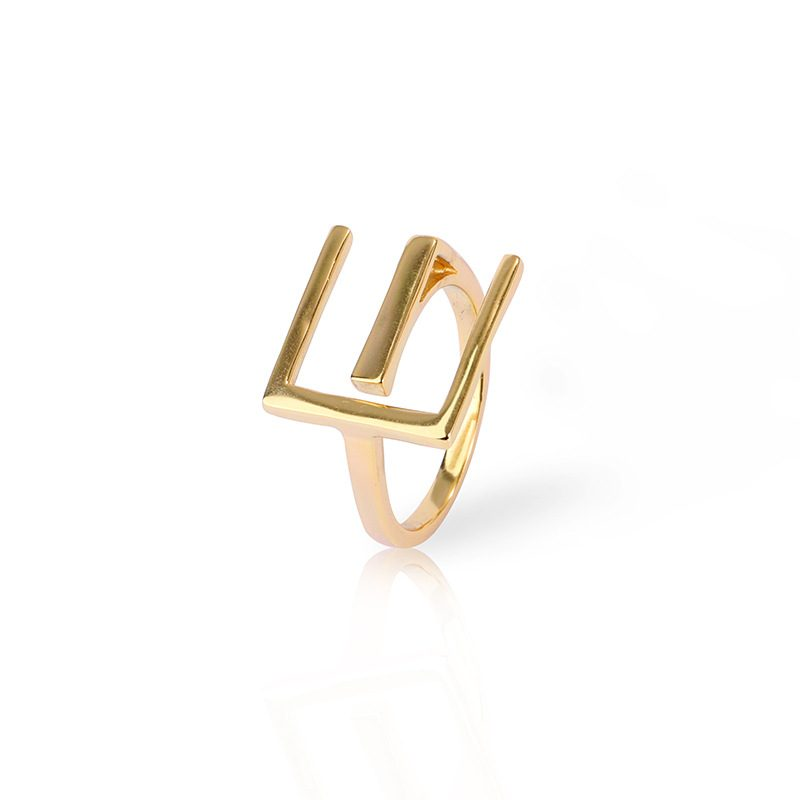 Nhẫn bạc mạ vàng sương giá LILI_819462-05