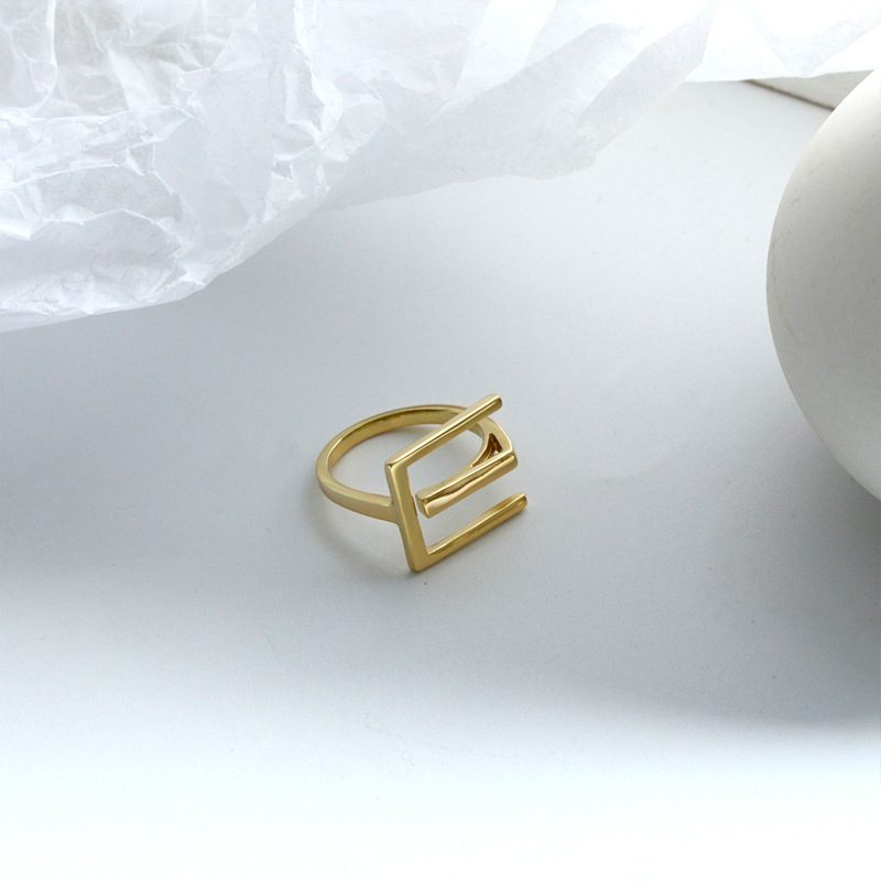 Nhẫn bạc mạ vàng sương giá LILI_819462-06