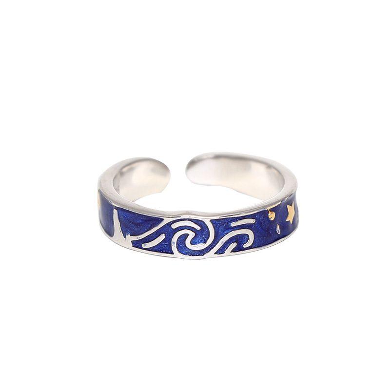 Nhẫn đôi bạc Bầu trời sao LILI_553548-03