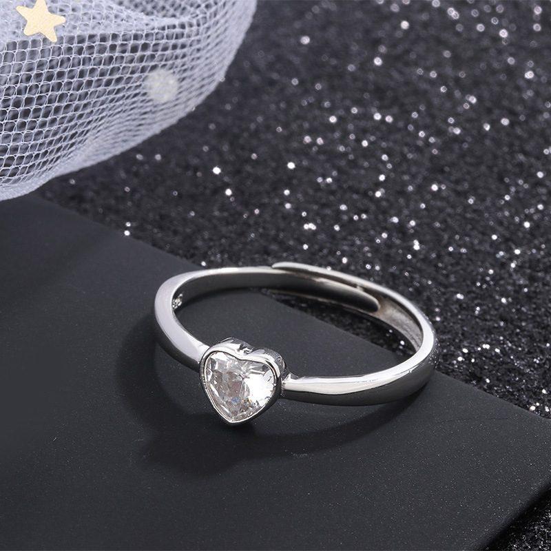 Nhẫn đôi bạc hình trái tim LILI_349761-04