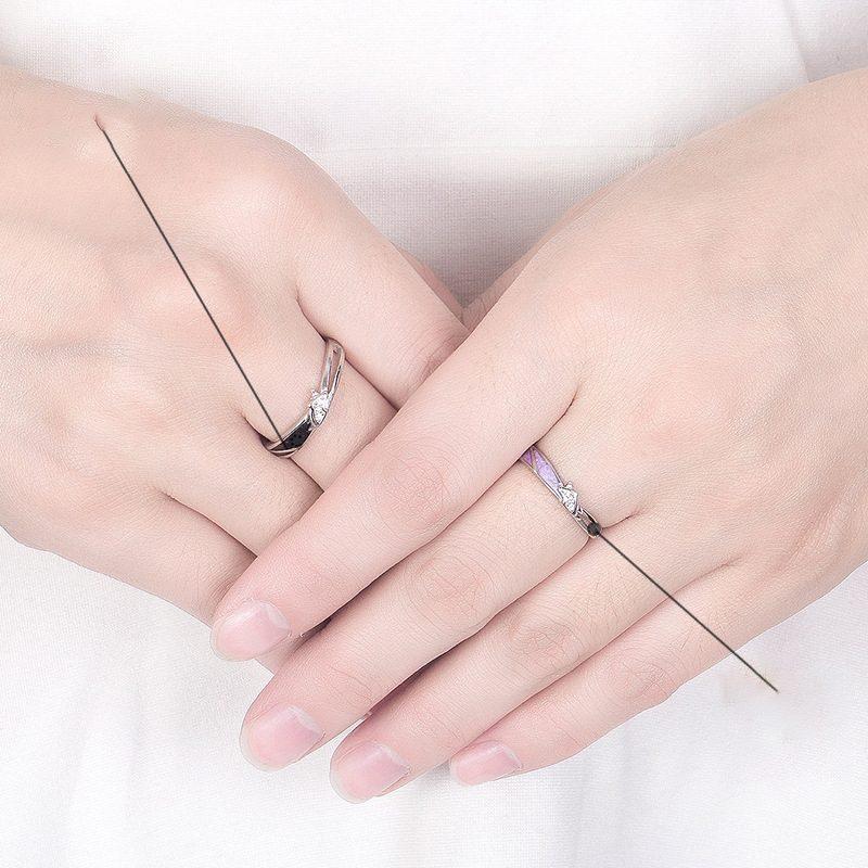 Nhẫn đôi bạc mạ vàng hình Kỳ Lân LILI_649164-03