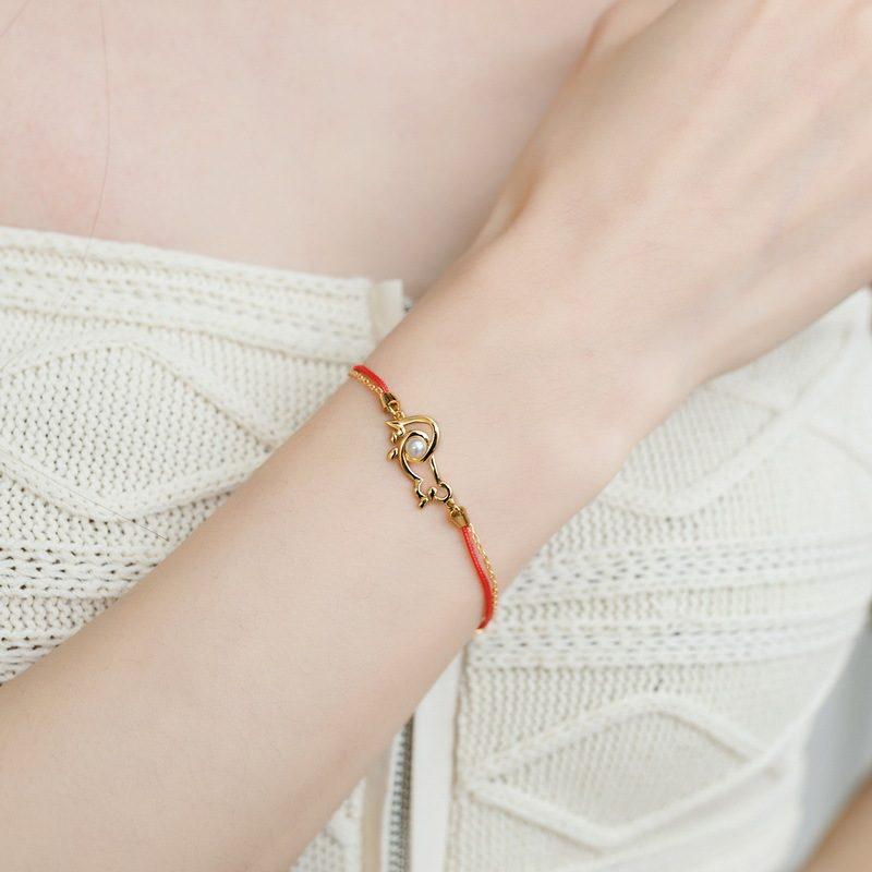 Lắc tay Vòng tay bạc mạ vàng With Love LILI_964977-04