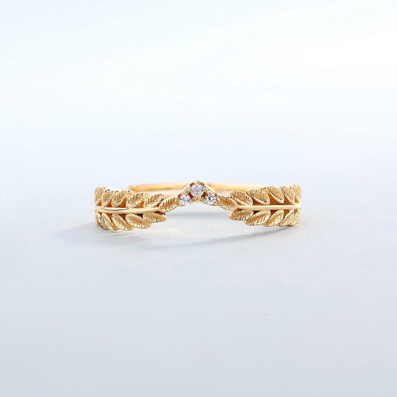 Bộ trang sức bạc mạ vàng Cây ô liu LILI_561446-02