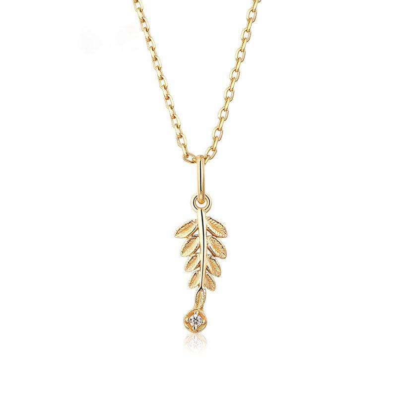 Bộ trang sức bạc mạ vàng Cây ô liu LILI_561446-05