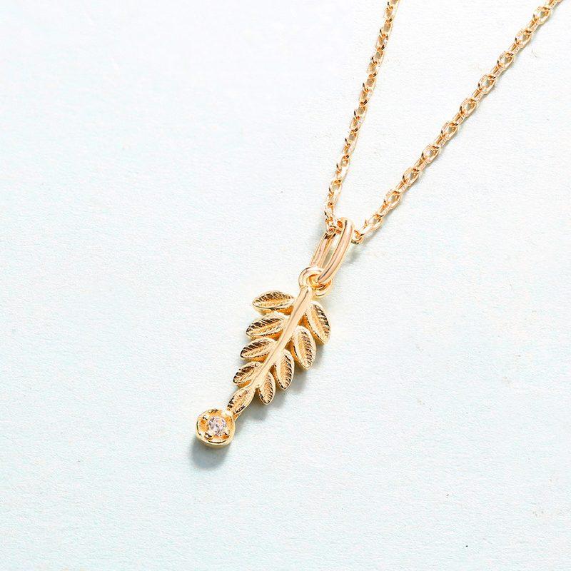 Bộ trang sức bạc mạ vàng Cây ô liu LILI_561446-06